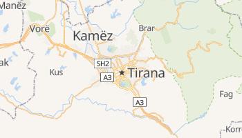 Mapa online de Tirana para viajantes