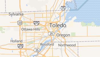 Mapa online de Toledo para viajantes
