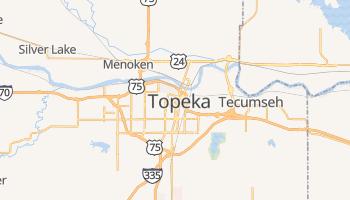 Mapa online de Topeka para viajantes