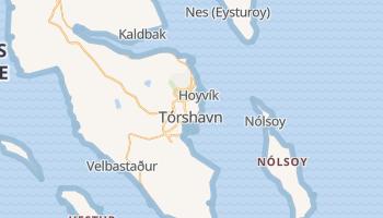 Mapa online de Tórshavn para viajantes