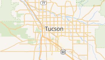 Mapa online de Tucson para viajantes