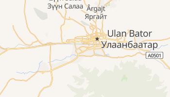 Mapa online de Ulaanbaatar para viajantes