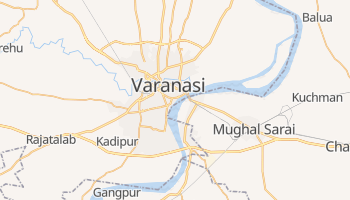 Mapa online de Varanasi para viajantes