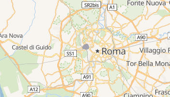 Mapa online de Vaticano para viajantes