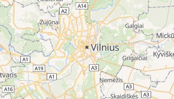Mapa online de Vilnius para viajantes