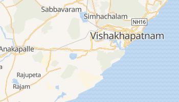 Mapa online de Vishakhapatnam para viajantes
