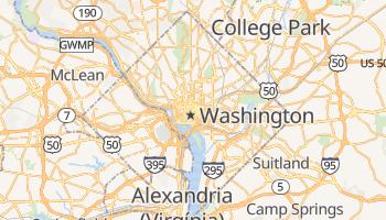 Mapa online de Washington para viajantes
