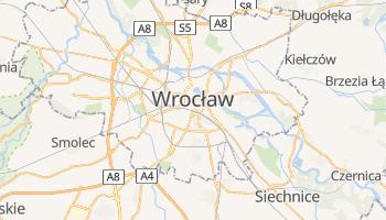 Mapa online de Wrocław para viajantes