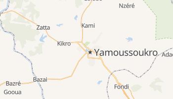 Mapa online de Yamoussoukro para viajantes