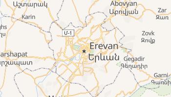 Mapa online de Erevan para viajantes