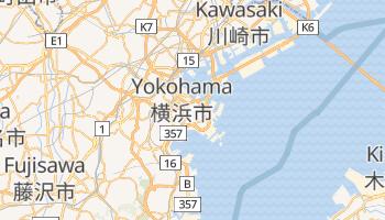 Mapa online de Yokohama para viajantes