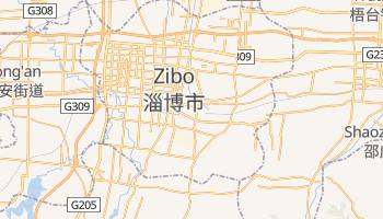 Mapa online de Zibo para viajantes