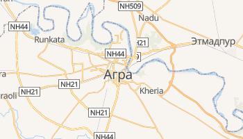 Агра - детальная карта