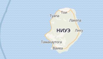 Алофи - детальная карта