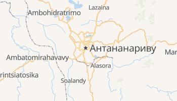 Антананариву - детальная карта