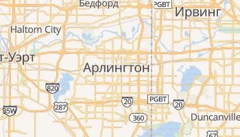 Арлингтон - детальная карта