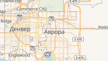 Аврора - детальная карта