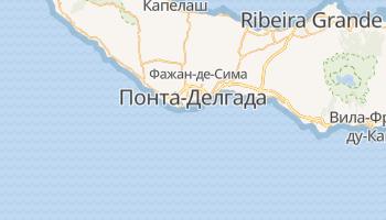 Азоры - детальная карта