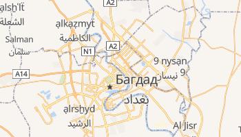 Багдад - детальная карта