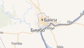 Банги - детальная карта