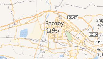 Баотоу - детальная карта