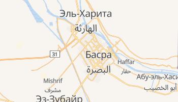 Басра - детальная карта