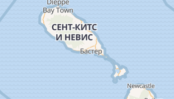 Бастер - детальная карта