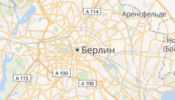 Берлин - детальная карта