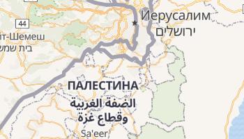 Вифлеем - детальная карта