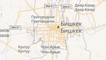 Бишкек - детальная карта