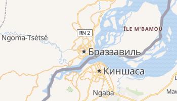 Браззавиль - детальная карта