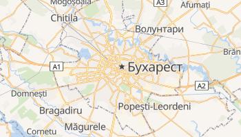 Бухарест - детальная карта