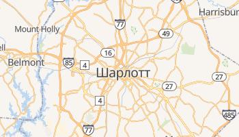 Шарлот - детальная карта