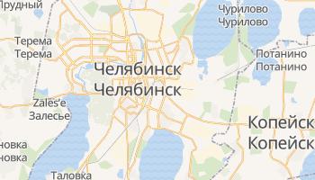 Челябинск - детальная карта