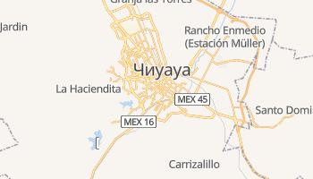 Чиуауа - детальная карта