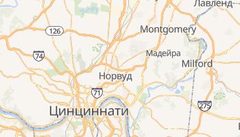 Цинциннати - детальная карта