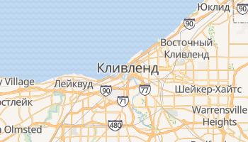 Кливленд - детальная карта