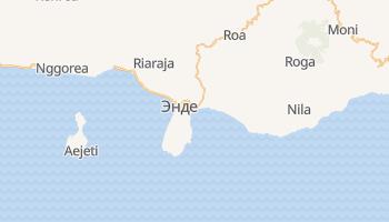 Энде - детальная карта