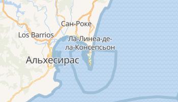 Гибралтар - детальная карта