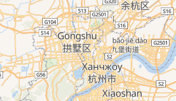 Ханчжоу - детальная карта