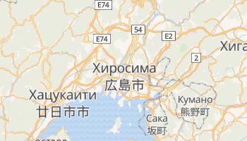 Хиросима - детальная карта