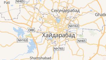 Хайдарабад - детальная карта