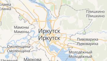 Иркутск - детальная карта