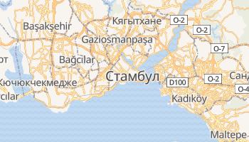 Стамбул - детальная карта