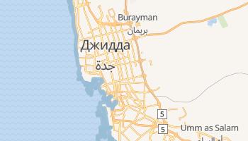 Джидда - детальная карта