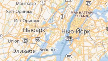Джерси-Сити - детальная карта