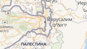 Иерусалим - детальная карта
