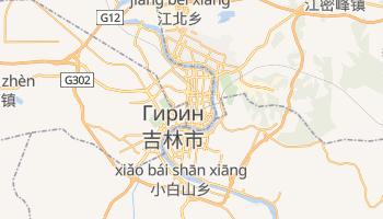 Цзилинь - детальная карта