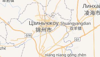 Цзиньчжоу - детальная карта