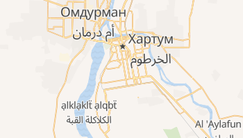 Хартум - детальная карта